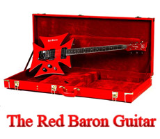 The Red Baron Guitar